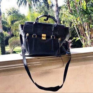 Phillip Lim 3.1 Leather Pashli Bag large blue